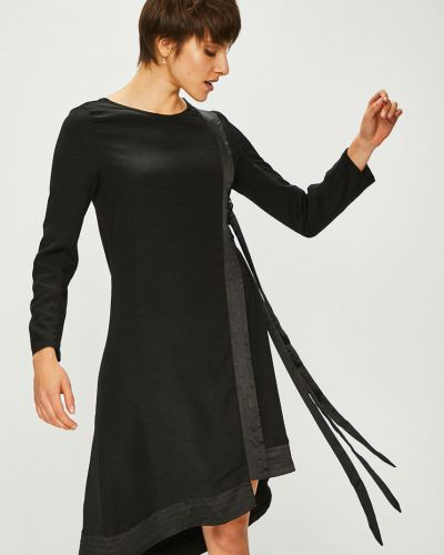 Платье миди с длинными рукавами прямое Answear