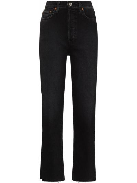 Klasyczne mom jeans - czarne Re/done