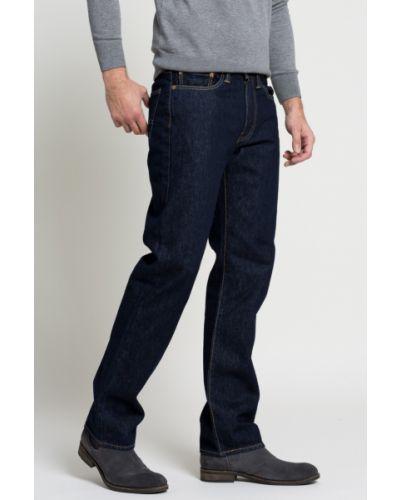 Прямые джинсы с карманами с нашивками Levi's®