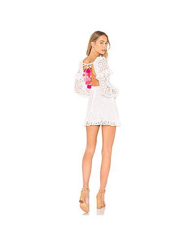 Платье мини с открытой спиной хлопковое Sundress