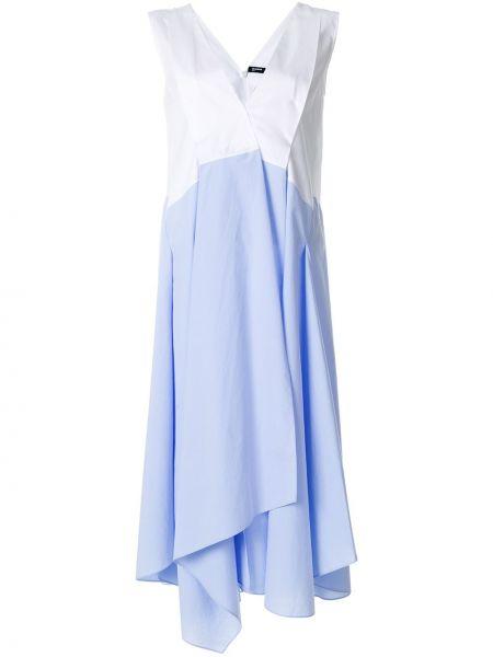 Платье шифт синее Jil Sander Navy