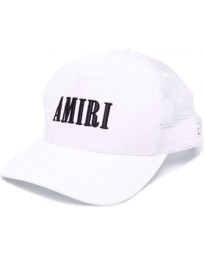 Хлопковая кепка - белая Amiri