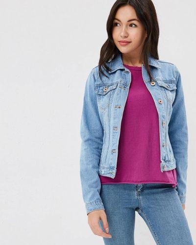 Голубая джинсовая куртка Modis
