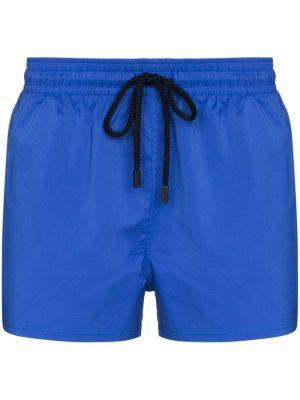 Niebieskie szorty bawełniane Vilebrequin