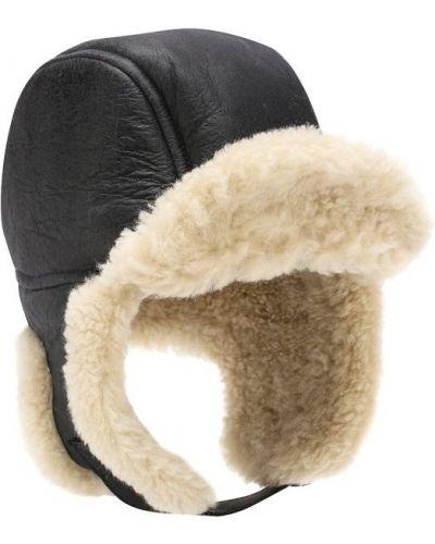 Серая шапка с мехом Isabel Marant