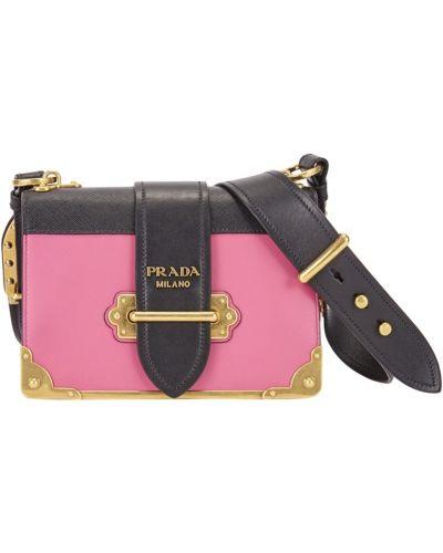 Сумка через плечо кожаный сумка-мешок Prada