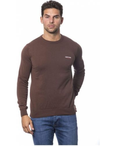 Sweter z haftem Roberto Cavalli Sport
