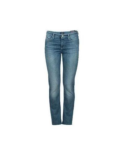 Синие джинсы-скинни Armani Jeans