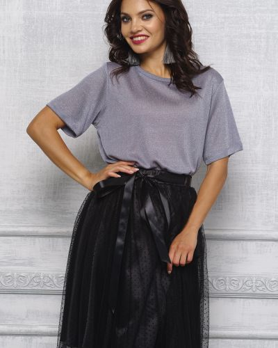Блузка с люрексом короткая Lacywear