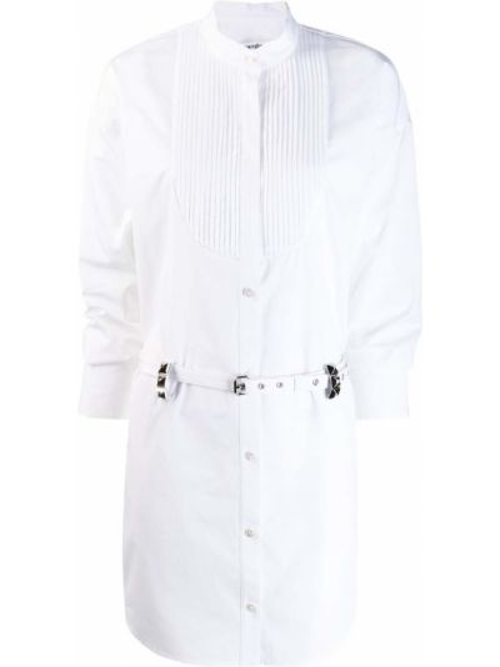 Bawełna bawełna biały koszula z kołnierzem Alexander Wang