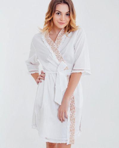 Белый халат домашний Mia-mia