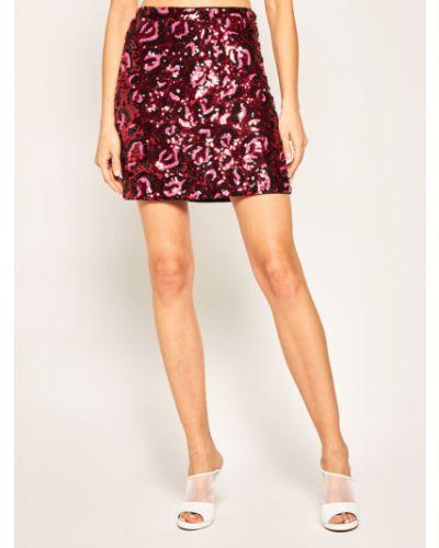 Różowa spódnica mini Guess