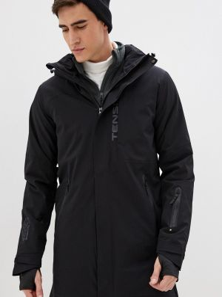 Черная куртка горнолыжная Tenson
