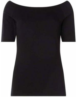 Bluzka bawełniana - czarna Modström