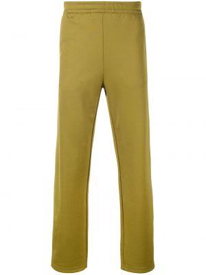 Sportowe spodnie z kieszeniami z haftem Acne Studios