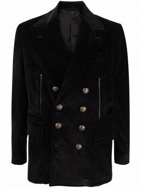 Пиджак вельветовый - черный Tom Ford