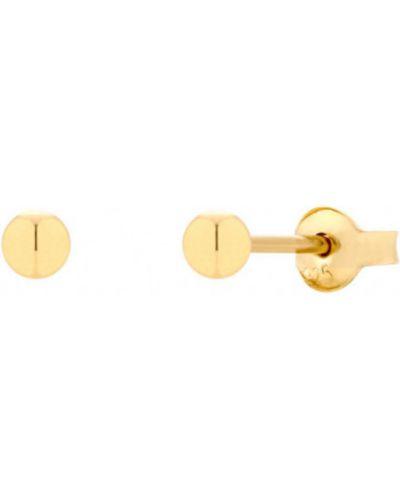 Złote kolczyki - żółte Wiola Wołczyńska Essential