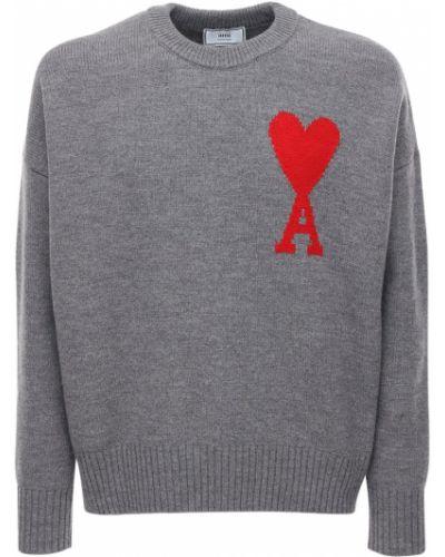 Wełniany sweter Ami Alexandre Mattiussi