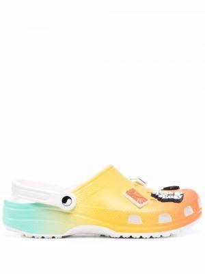 Chodaki - pomarańczowe Crocs