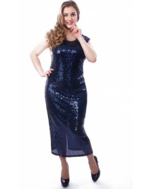Вечернее платье платье-сарафан однотонное Wisell