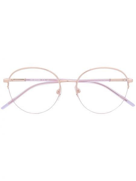 Okulary srebrne - szare Love Moschino