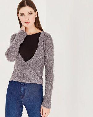 Пуловер серый итальянский Dimensione Danza