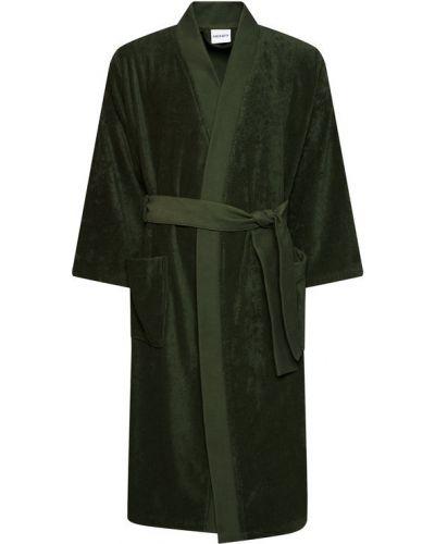 Zielony szlafrok Kenzo