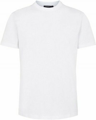 T-shirt - biała J.lindeberg