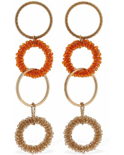 Серьги - оранжевые Jacquemus