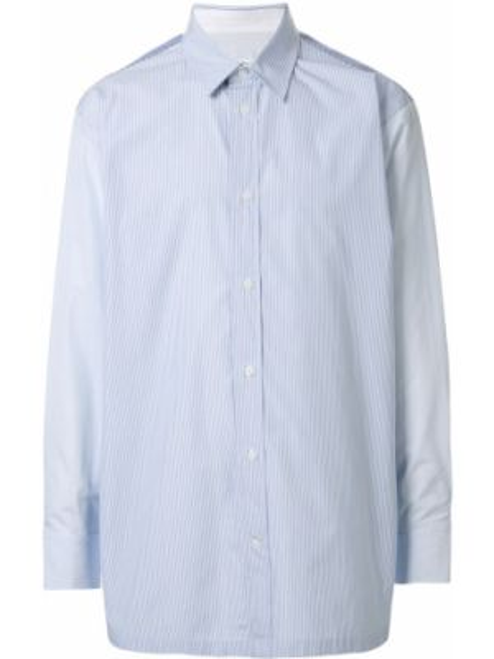 Koszula z długim rękawem z paskami długa Ck Calvin Klein
