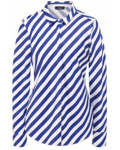 Рубашка в полоску - синяя Van Laack