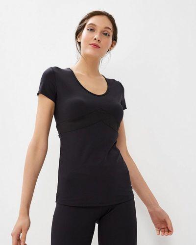 Черная спортивная футболка Grishko