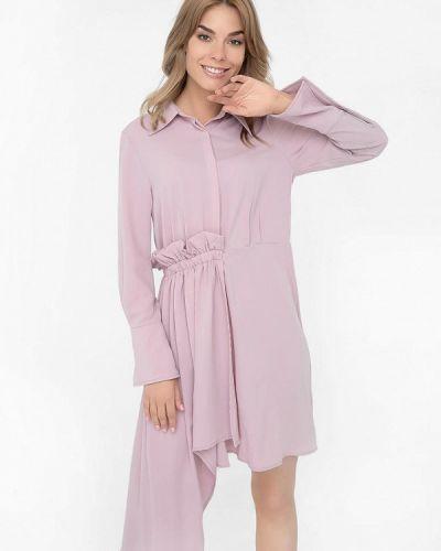 Платье розовое платье-рубашка Monoroom