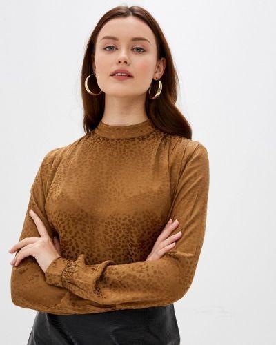Блузка с длинными рукавами золотая B.young