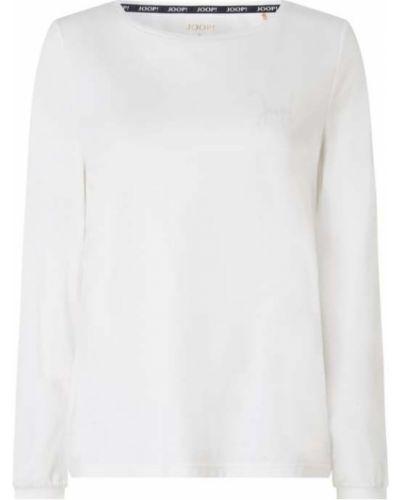 Biała bluzka bawełniana Joop! Bodywear