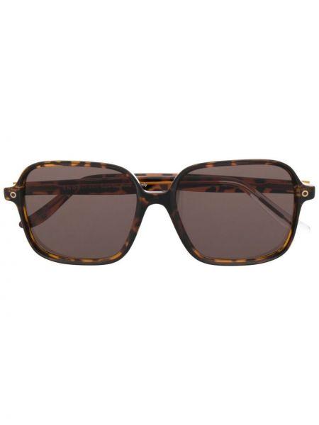 Brązowe okulary oversize Snob