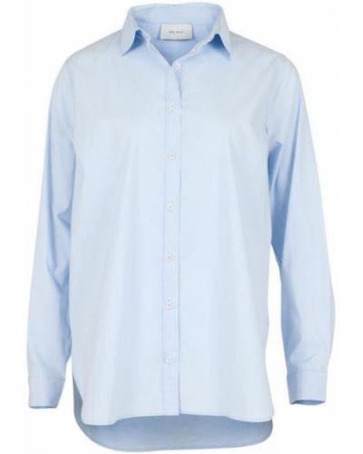 Niebieska koszula z długimi rękawami Neo Noir
