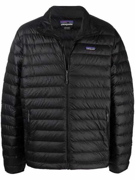 Черная куртка длинная Patagonia
