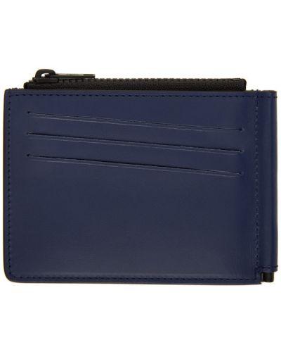 Biały portfel z kieszeniami z gniazdem z prawdziwej skóry Maison Margiela
