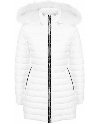 Стеганая куртка с капюшоном на молнии Emporio Armani