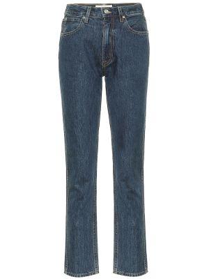 Ватные хлопковые синие джинсы Slvrlake