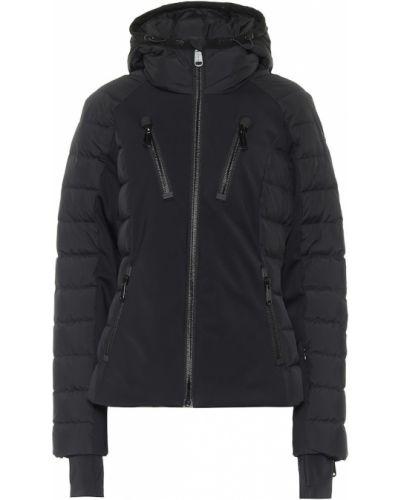 Пуховая черная куртка свободного кроя Goldbergh