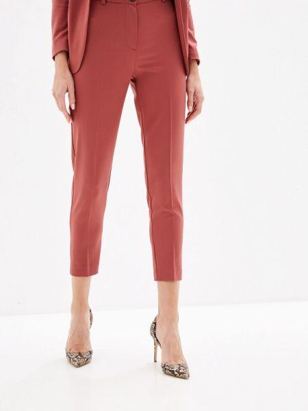 Классические брюки коралловый красный La Biali