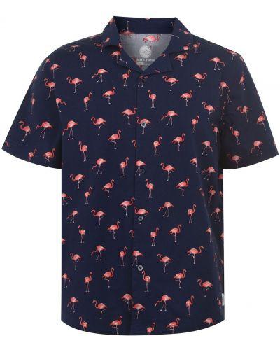Koszula krótki rękaw bawełniana na co dzień Hot Tuna