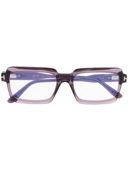Фиолетовые очки для зрения квадратные Tom Ford Eyewear