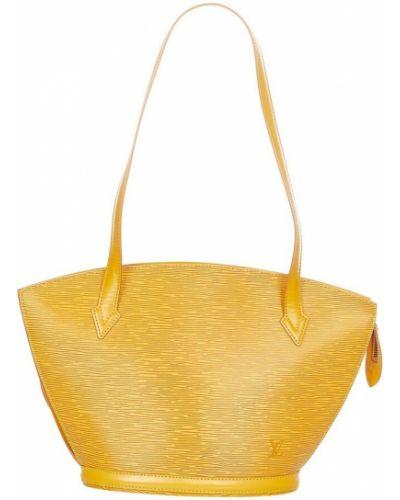 Żółty pasek Louis Vuitton Vintage