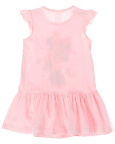 Платье с рукавами со стразами хлопковое Play Today