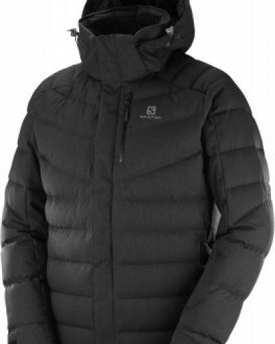 Утепленная куртка с капюшоном спортивная Salomon