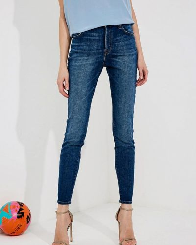 Синие джинсы-скинни J Brand