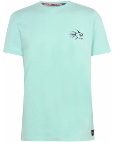 Prążkowana koszula bawełniana krótki rękaw Hot Tuna
